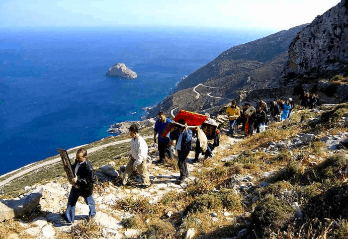 Easter in Amorgos