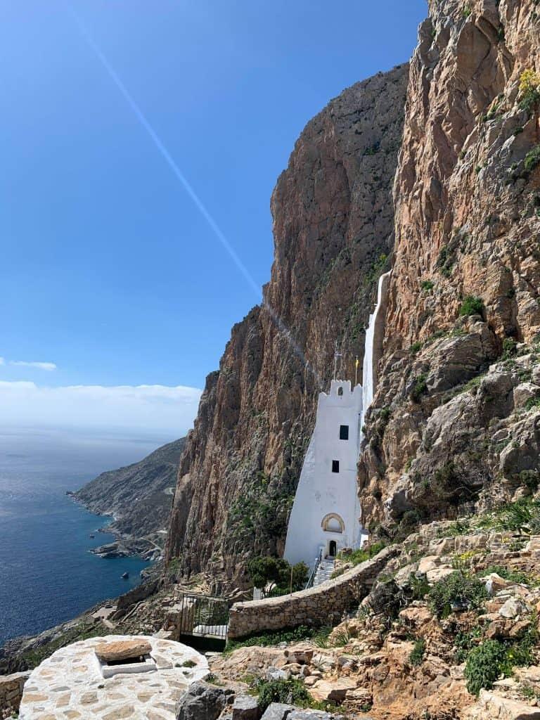 Monastery of Hozoviotissa in Amorgos